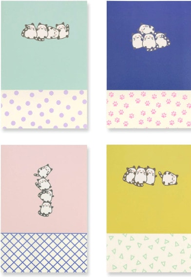 Miliko A5 Kitty Series Softcover Notebook