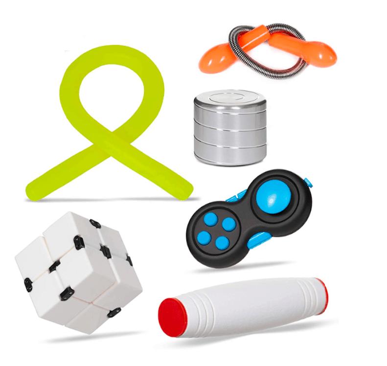 Desk Fidget toys Box 6 Pack