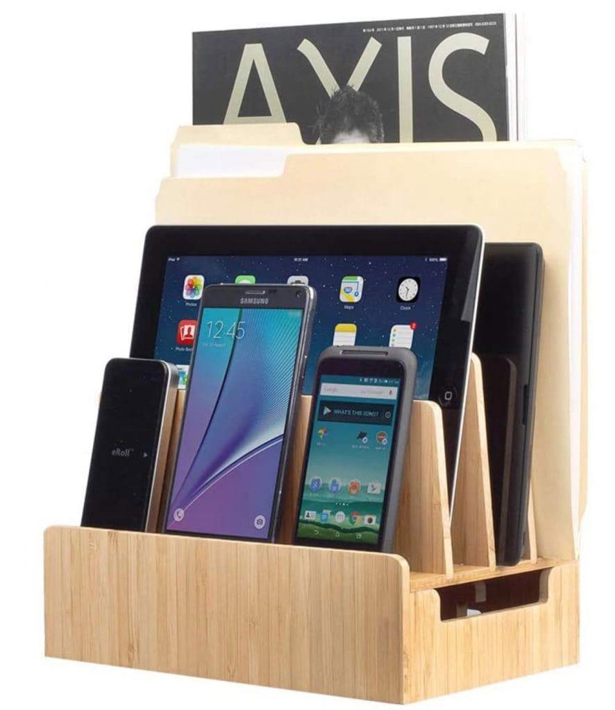 best-device-charging-dock-desk-organization-ideas