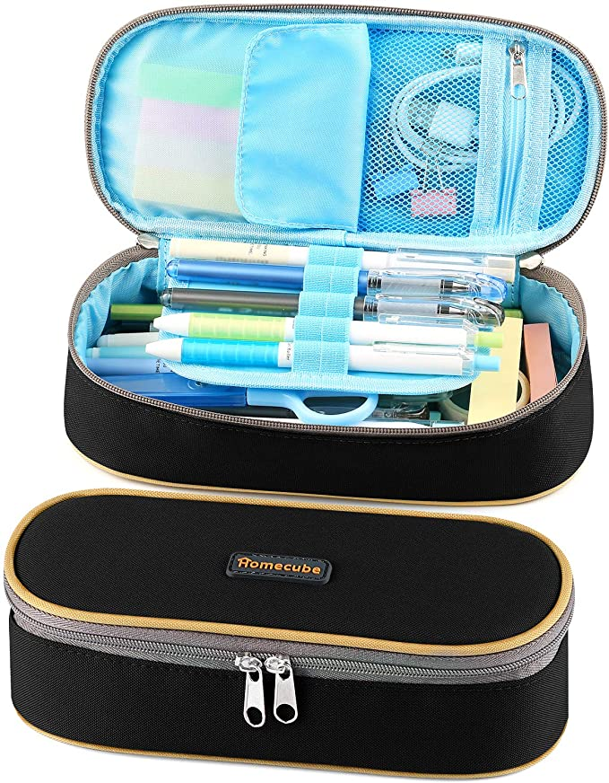 Homecube Big Capacity Waterproof Pencil Bag