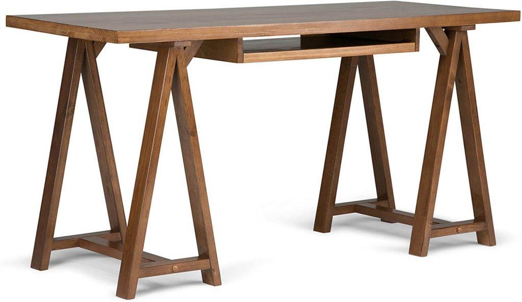 Simplihome Sawhorse Home Office Desk