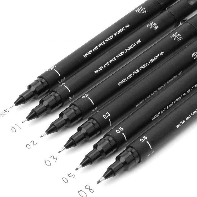 Uni Pin Drawing Pens