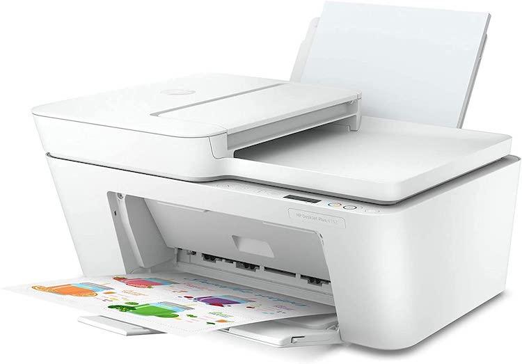 HewIett Packard DeskJet Plus 4151 All-in-One Color Wireless Bluetooth Inkjet Printer