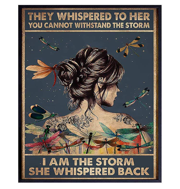 They Whispered to Her You Cannot Withstand The Storm Print